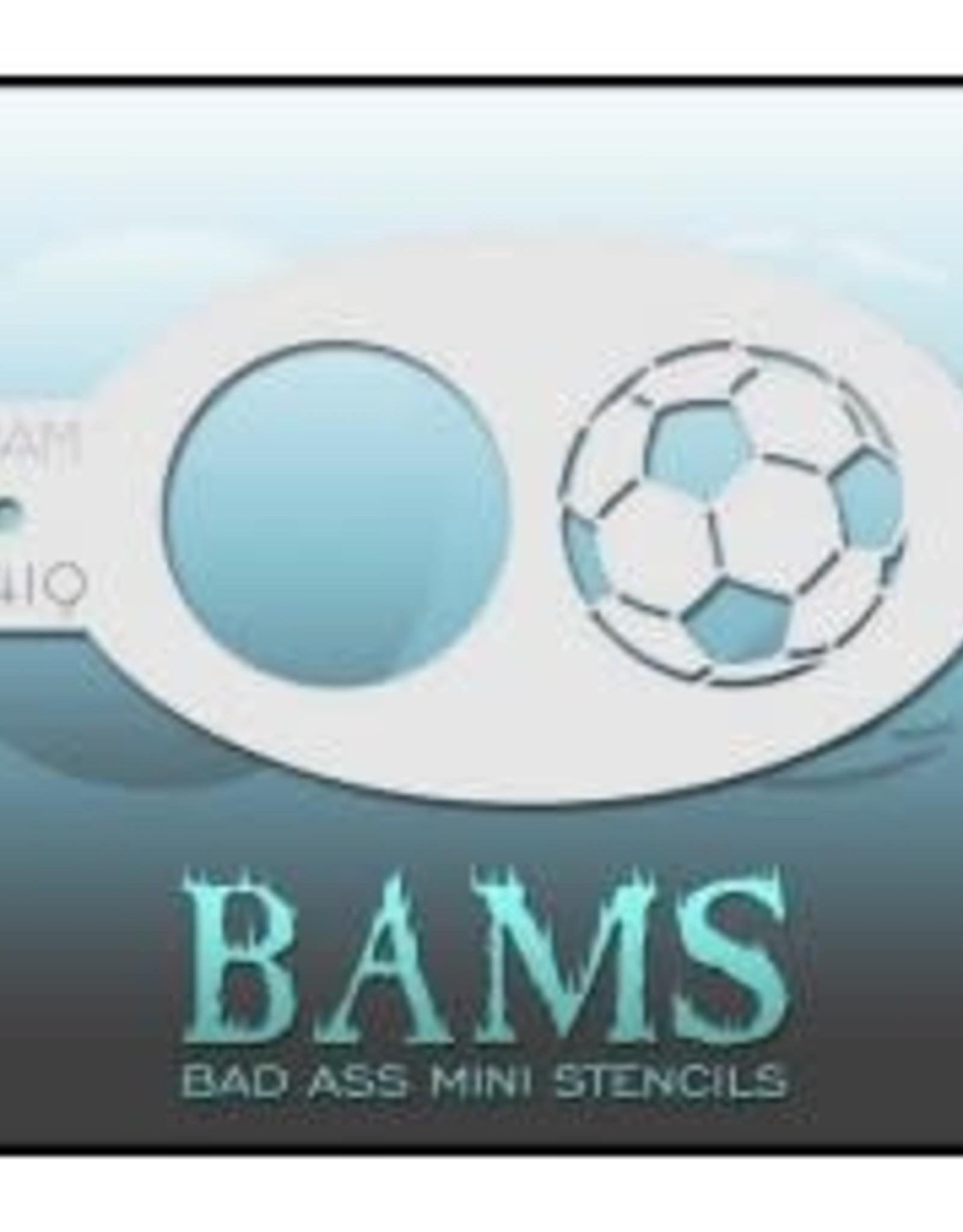 Bad Ass Stencils Bad Ass Mini Stencil - BAM1419