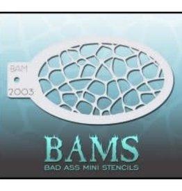 Bad Ass Stencils Bad Ass Mini Stencil - BAM2003
