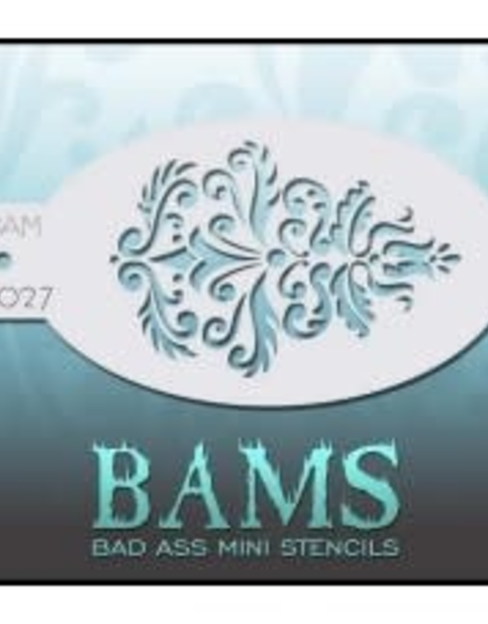 Bad Ass Stencils Bad Ass Mini Stencil - BAM2027