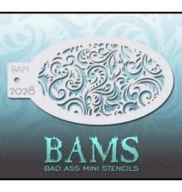 Bad Ass Stencils Bad Ass Mini Stencil - BAM2028