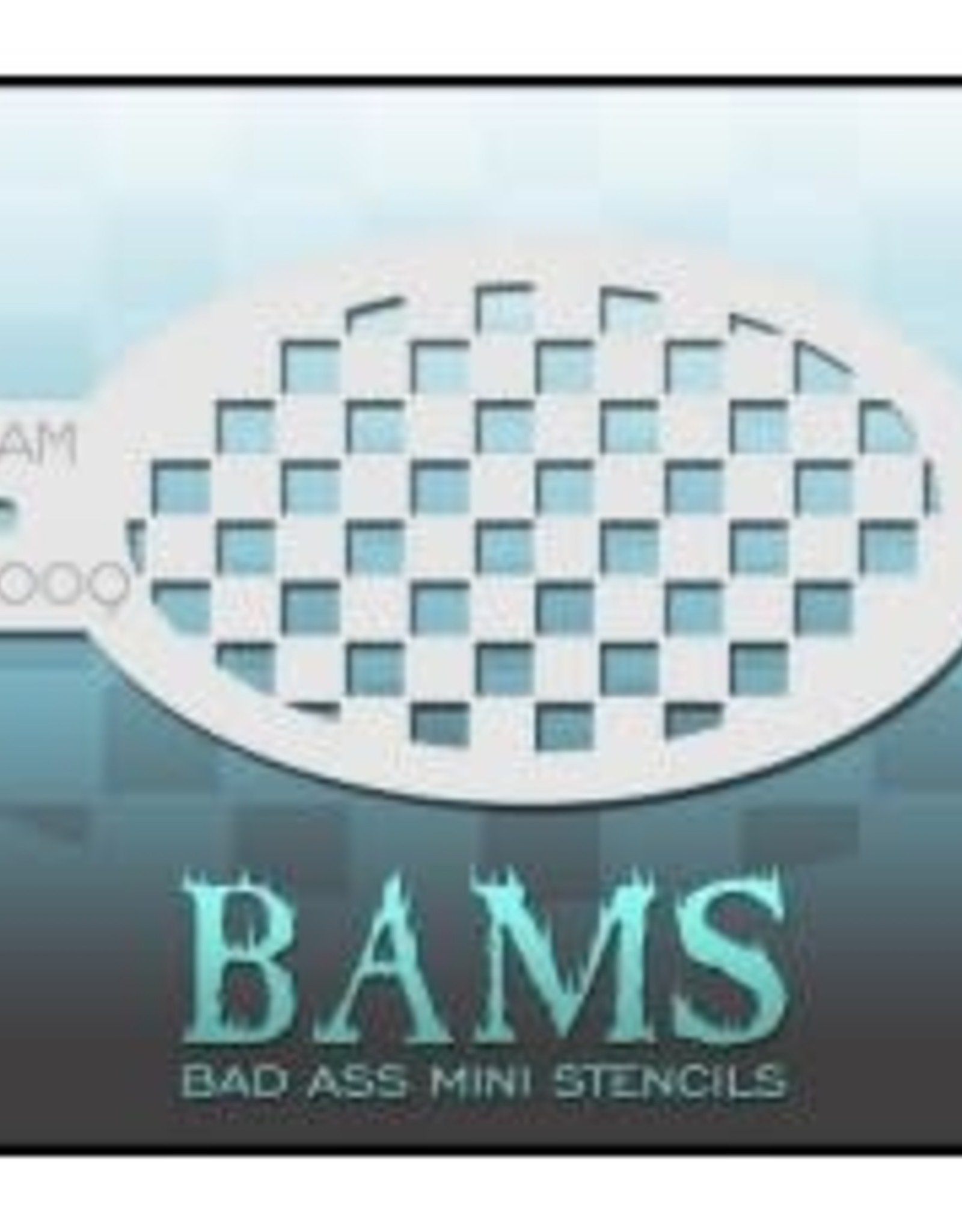 Bad Ass Stencils Bad Ass Mini Stencil - BAM4009
