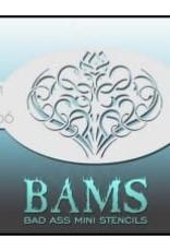 Bad Ass Stencils Bad Ass Mini Stencil - BAM4006