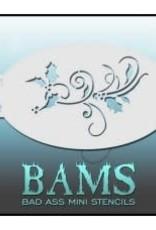 Bad Ass Stencils Bad Ass Mini Stencil - BAMH02