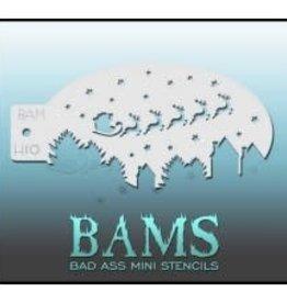 Bad Ass Stencils Bad Ass Mini Stencil - BAMH10