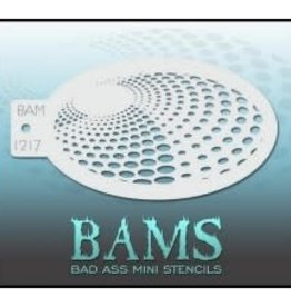 Bad Ass Stencils Bad Ass Mini Stencil - BAM1217