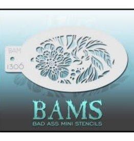Bad Ass Stencils Bad Ass Mini Stencil - BAM1306