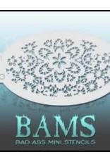 Bad Ass Stencils Bad Ass Mini Stencil - BAM1420