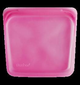 Stasher Stasher - Rasberry Medium / STM06 450ml - 18x19 cm