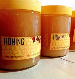 Roos met Witte Stippen Honing van de imker -  1 potje 500g