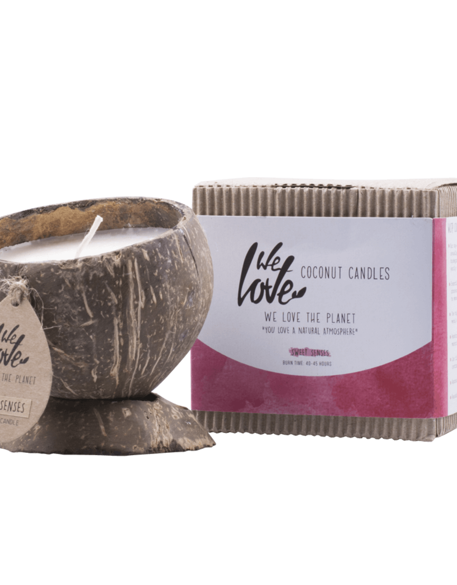 We love the planet We Love The Planet Soya Wax Coconut candle Sweet Senses