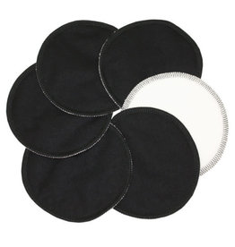 ImseVimse Nursing Pads, Stay Dry, Black - 3 pairs