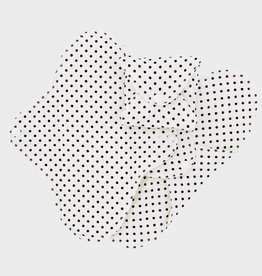 ImseVimse Sanitary pads, Regular, slim pads, black dots, pack of 3