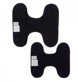 ImseVimse H-Panty liner, Regular, snap free, set of 3, black