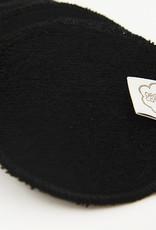 ImseVimse Cleansing pads, 10-pack + washbag, Black