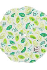 ImseVimse Cleansing pads, 10-pack + washbag, Green Leaves