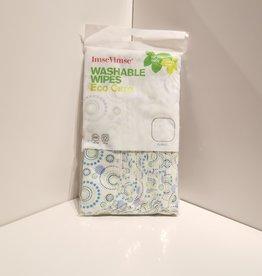 ImseVimse Washable Wipes, Orbit pack of 12
