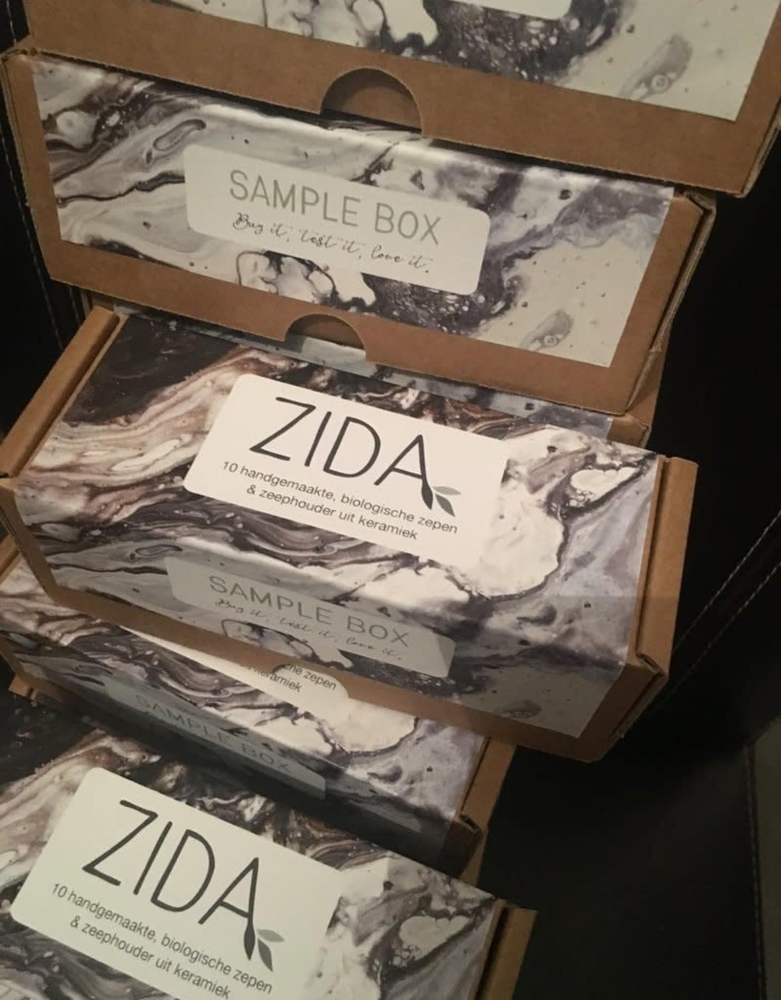 Zida Mix van zepen - Sample Box