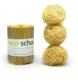 Eco-schuurspons Eco-schuurspons - 100% natuurlijk - 100% biologisch afbreekbaar