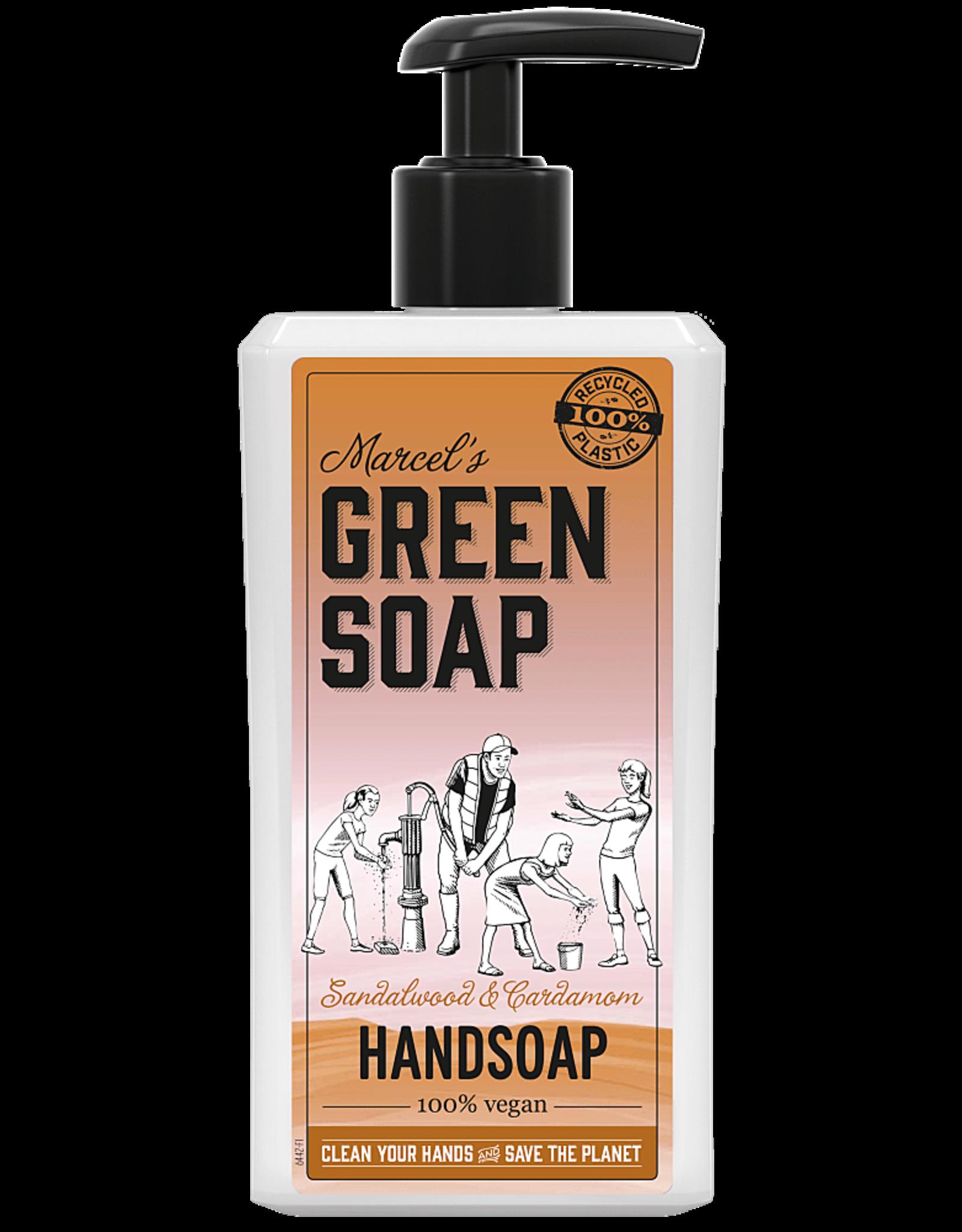 Marcel's Green Soap Handsoap Sandelwood & Cardemom 500 ml