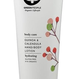 Green People Hand and body lotion quinoa & calendula 200ml