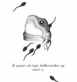 Maanblik Postkaart Kikkervisjes