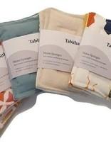Tabitha Eve Herbruikbare sponzen - wit - Set van 2