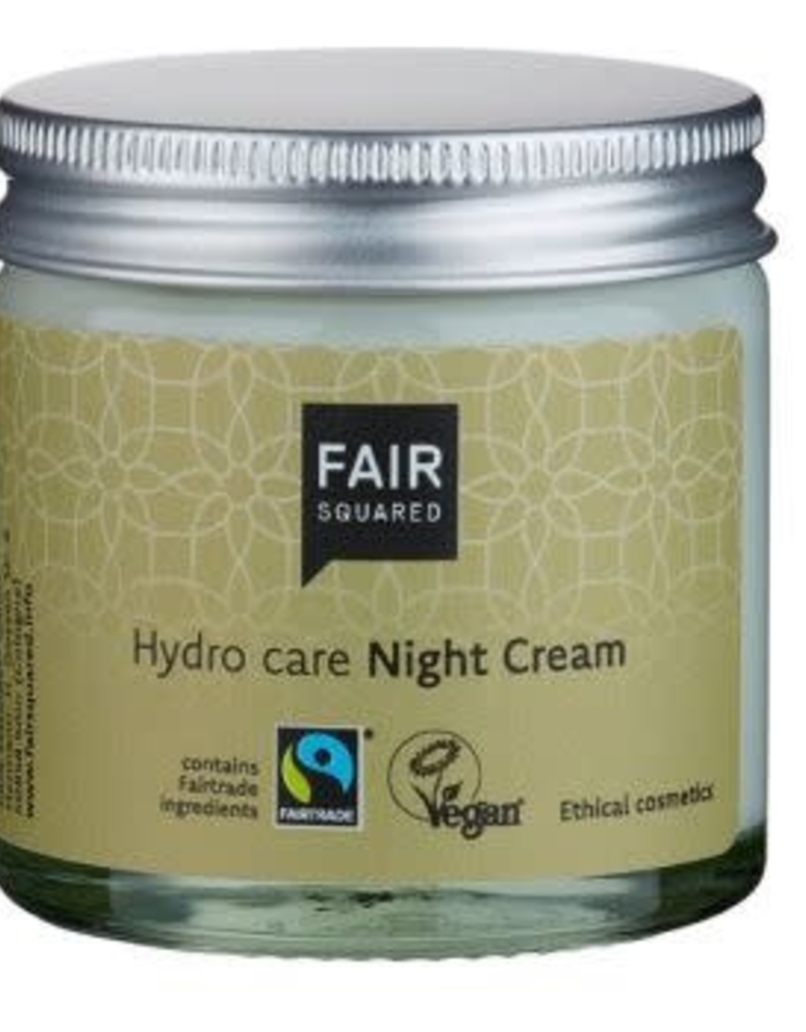FairSquared FairSquared - Nachtcreme argan 50ml - Zero Waste