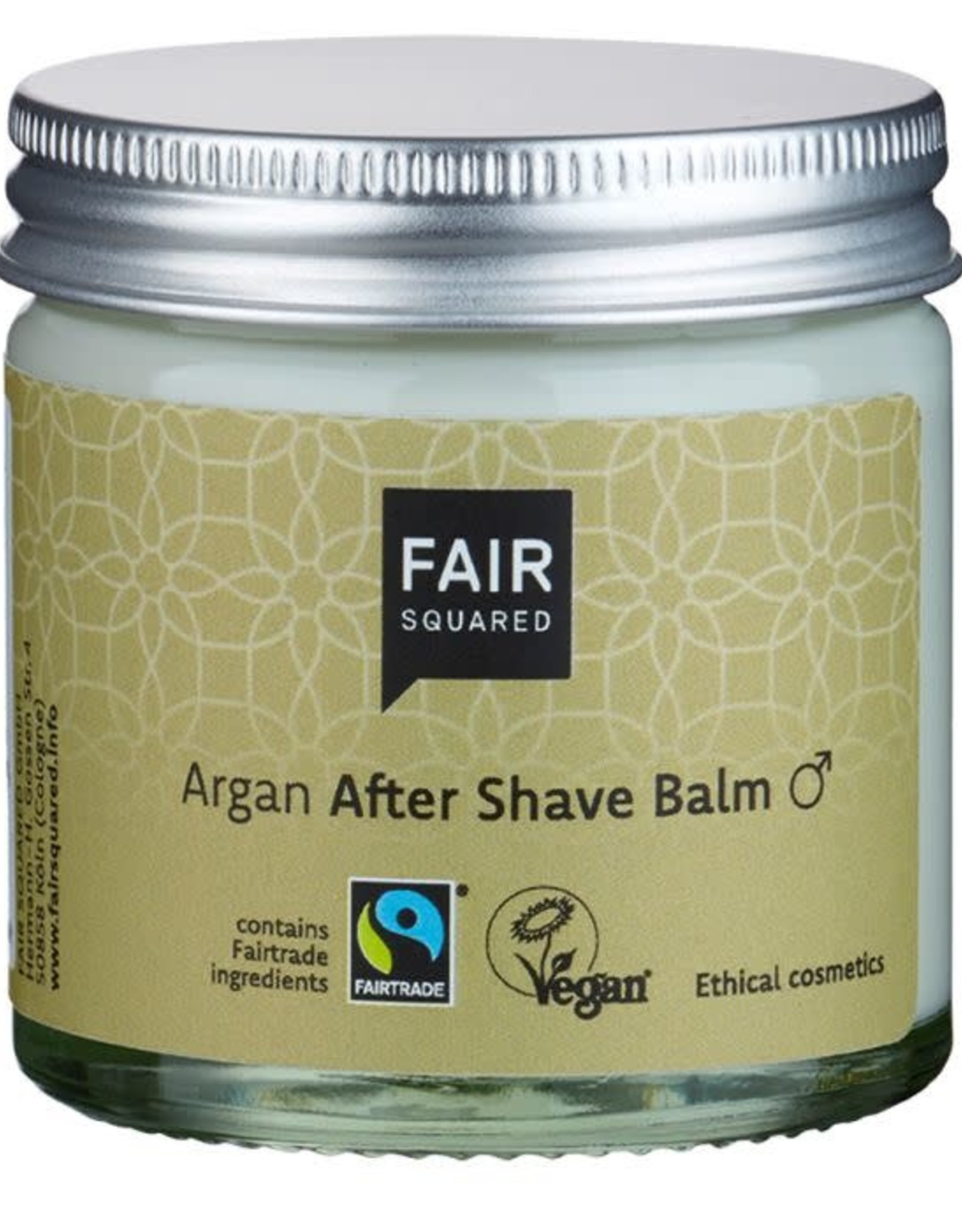 FairSquared FairSquared - After shave balm man Argan 50ml - Zero Waste