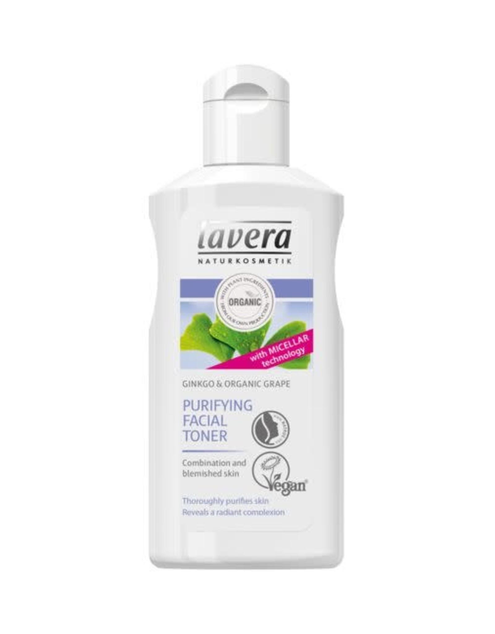 Lavera Gezichtstoner/facial toner gentle - cleansing purifying Ginko 125 ml