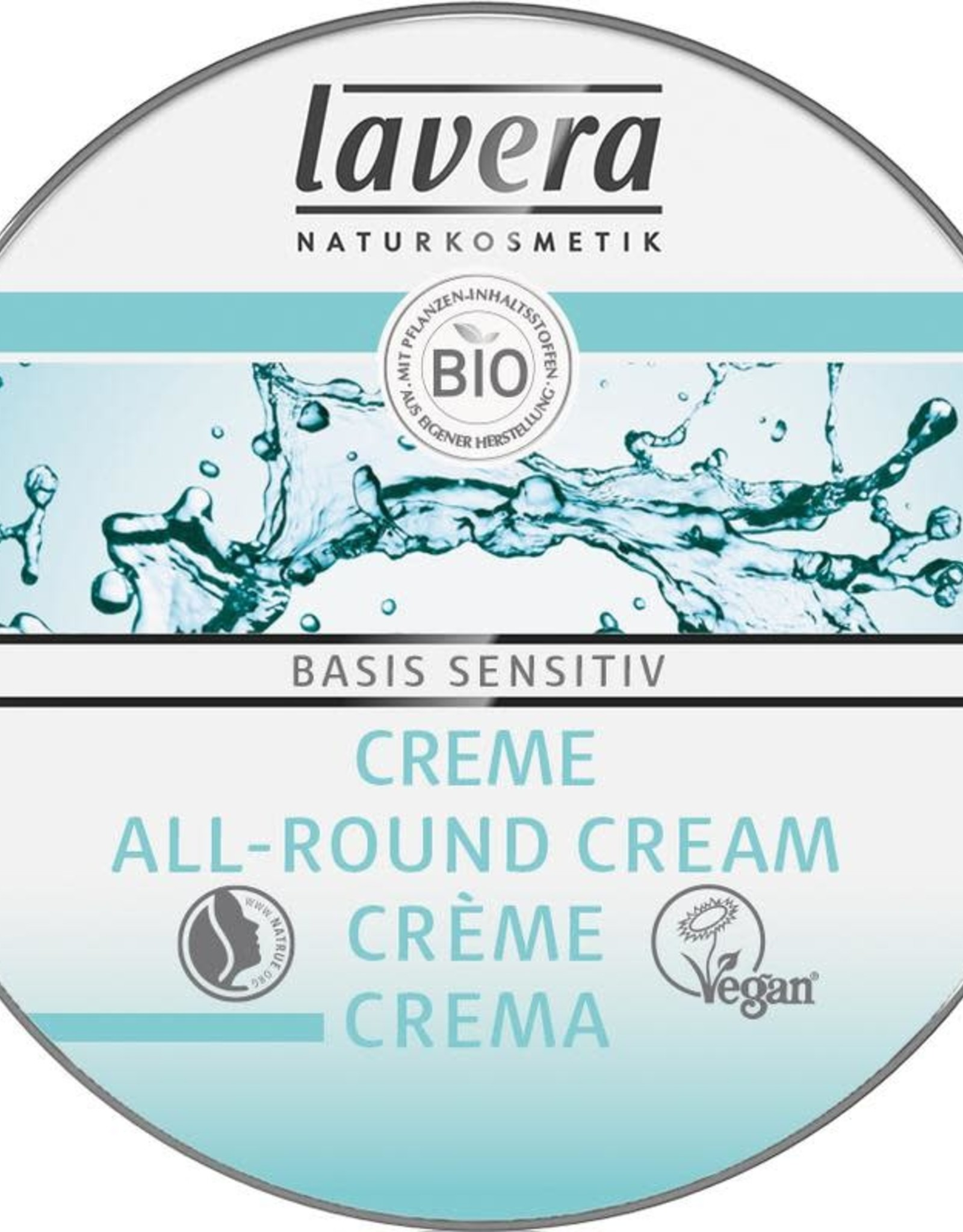 Lavera Basis Sensitiv all-round creme/cream mini 25 ml