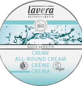 Lavera Basis Sensitiv all-round creme/cream mini 25 ml