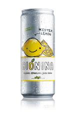 Bionina Bionina blikje Mister Lemon 330ml