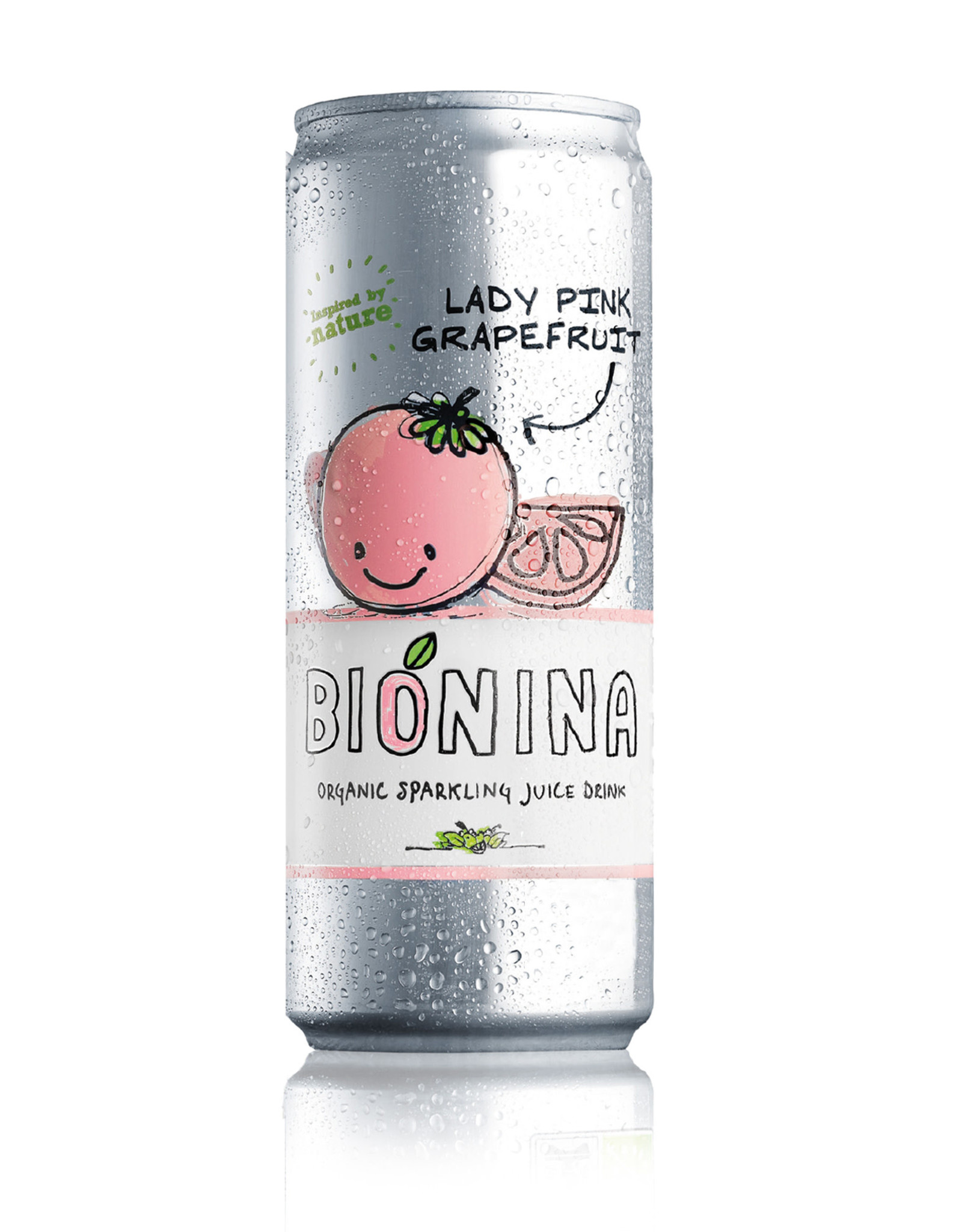 Bionina Bionina blikje Lady Pink Grapefruit 330ml
