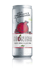 Bionina Bionina blikje Uncle Pommegrate The Cranberries 330ml