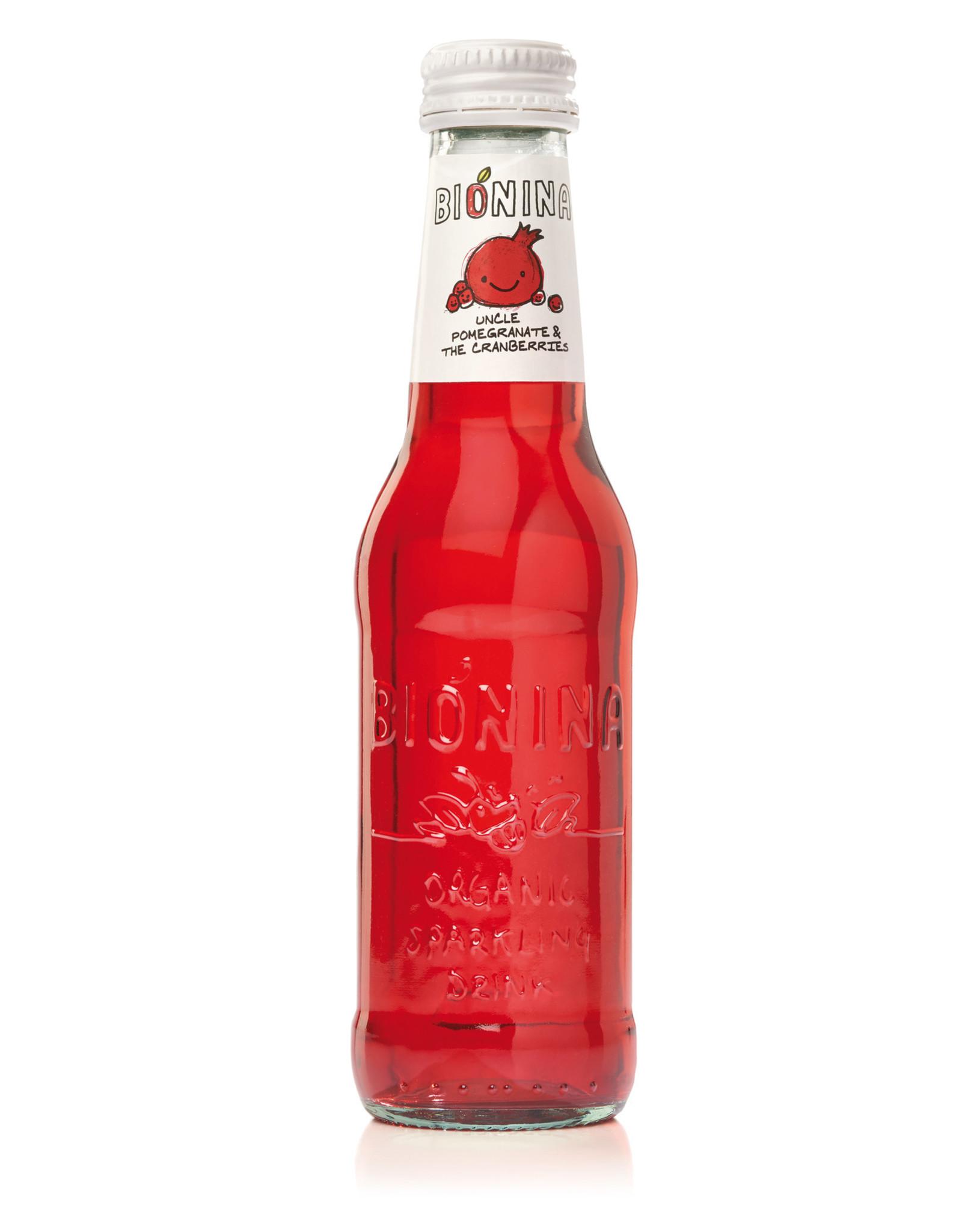 Bionina Bionina flesje Uncle Pomegranate The Cranberries 200ml