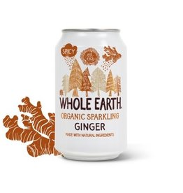 Whole Earth Whole Earth Organic Sparkling Ginger 330ml