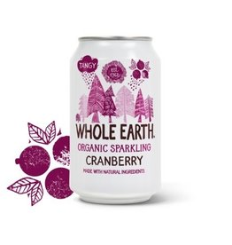 Whole Earth Whole Earth Organic Sparkling Cranberry 330ml