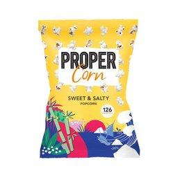 ProperCorn Popcorn sweet & salty 90g