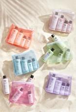 Maria Nila Beauty Bag 2020 Silver - Shampoo 350ml & Conditioner 300ml + travel size 2 x 100ml