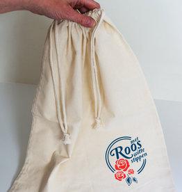 Roos met Witte Stippen Linnenzak Roos met Witte Stippen 40 x 50cm