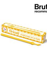 Lamazuna Herbruikbaar oorstaafje Oriculi uit bioplastic - geel