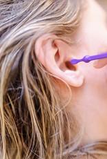 Lamazuna Herbruikbaar oorstaafje Oriculi uit bioplastic - paars