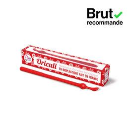 Lamazuna Herbruikbaar oorstaafje Oriculi uit bioplastic - rood