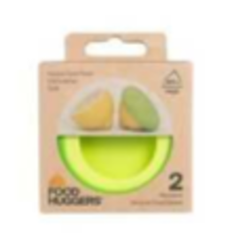 Foodhuggers Reusable Food Savers - set of 2 citrus savers