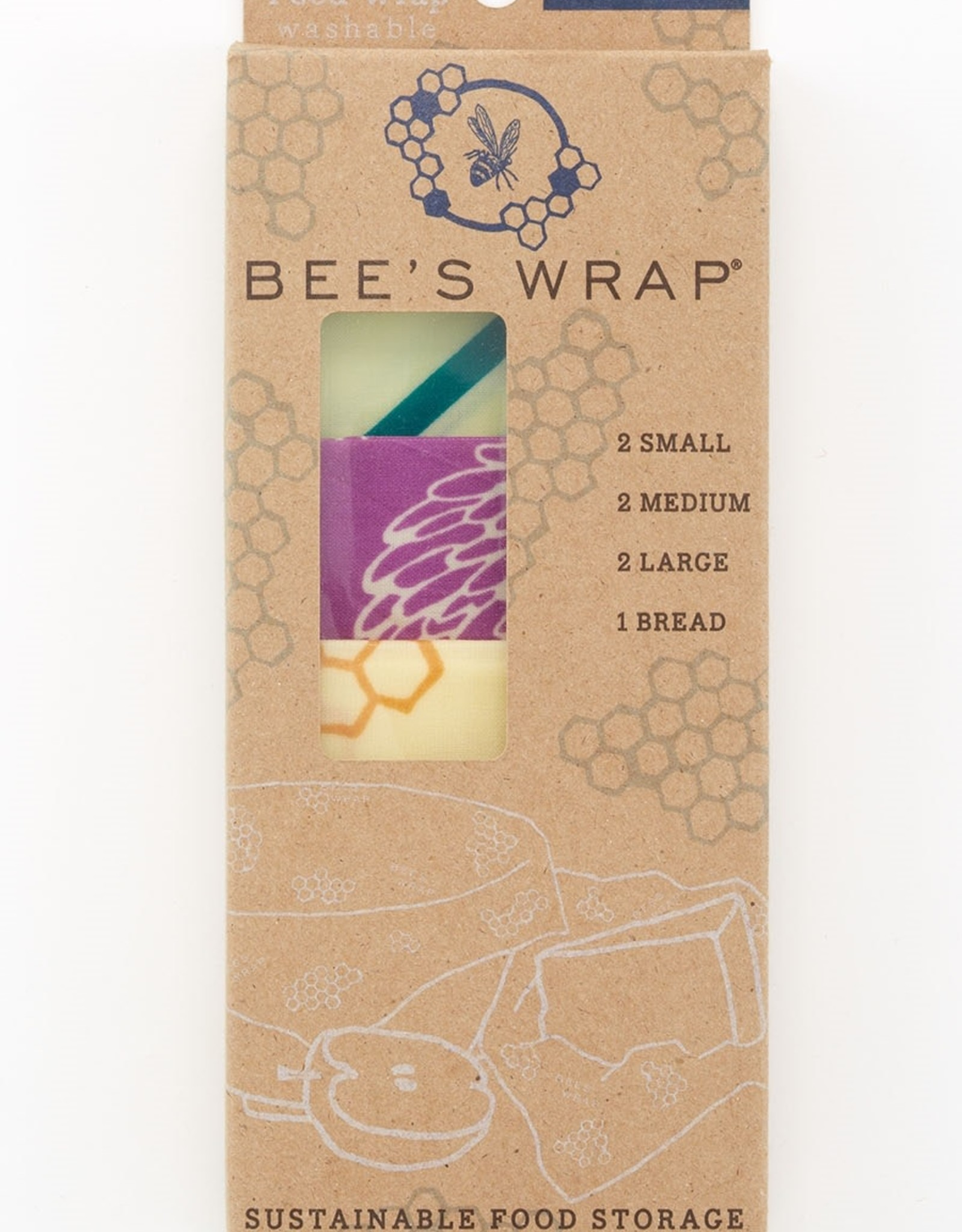 Bee's Wrap Bee's Wrap - Variety Pack 2xS/2xM/2xL/1xBread