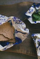 "Bee's Wrap Bee's Wrap - ""Bee's & Bears"" Lunchpack 1xSandwich + 2xMedium"
