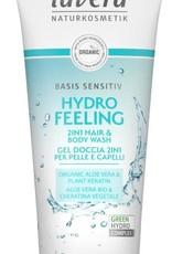 Lavera Basis Sensitiv douchegel/body wash 2in1 200ml