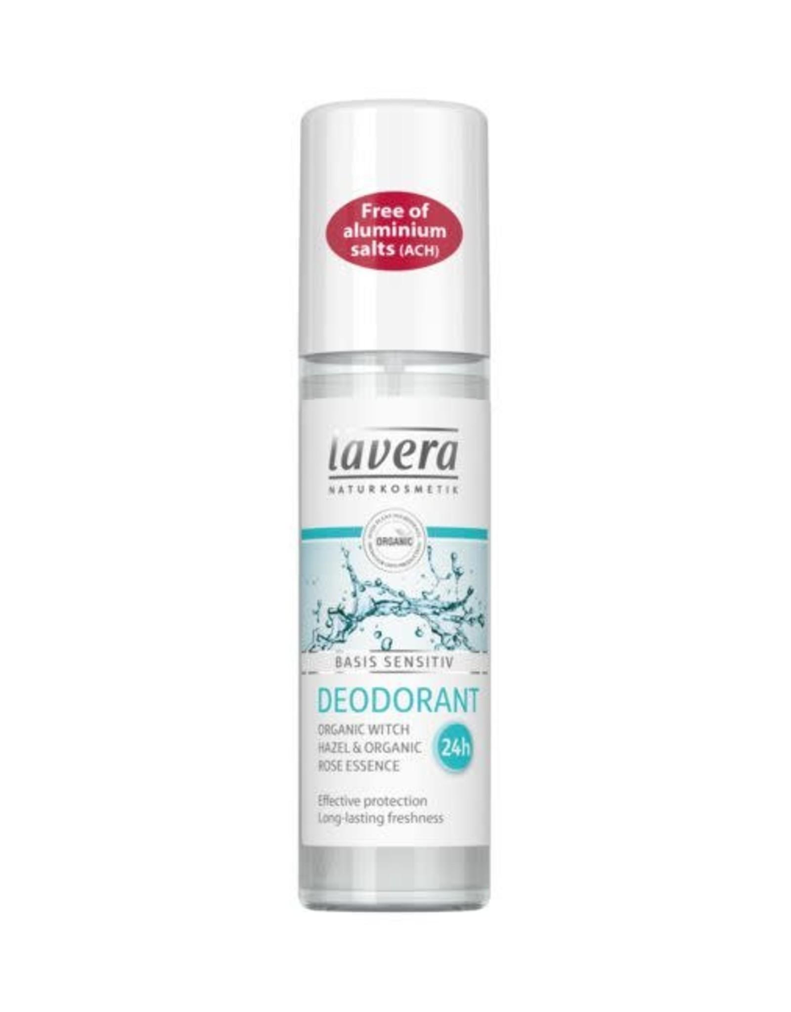 Lavera Basis Sensitive Deodorant Spray75 ml