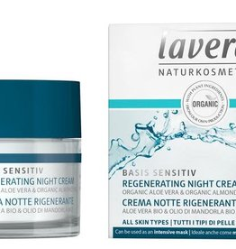 Lavera Basis Sensitiv nachtcreme/night cream regenerating 50 ml