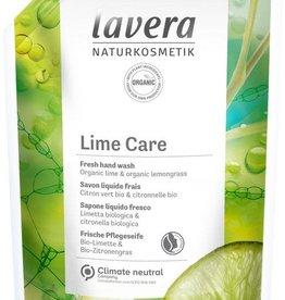 Lavera Navulling handzeep limoen/refill hand wash lime 500ml